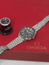 Omega Seamaster Big Triangle 300 ST 166.024 with Omega box and Extract of the Archive