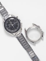 Omega SOLD-Omega Speedmaster 145.012-67 delivered in Switzerland Omega box and Extract of the Archive