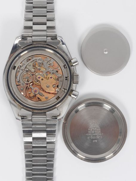 Omega Omega Speedmaster Moonphase ST 345.0809 with Omega box and Extract of the Archive