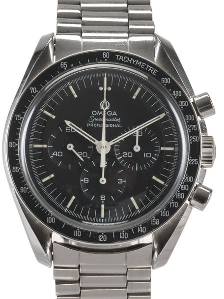Omega Omega Speedmaster Professional 145.022-69 Straight Writing from 1971 with Omega box and Extract of the Archive