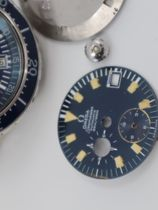 "Omega Omega Seamaster Automatic 120m Chronograph ""BIG BLUE"" ST 176.004  with Extract of the Archive"