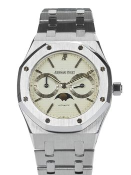 Audemars Piguet Sold-Audemars Piguet Royal Oak Day Date Moon Phase