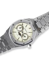 Audemars Piguet Sold-Audemars Piguet Royal Oak Day Date Moon Phase.