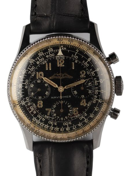 Breitling Breitling Navitimer 806 AOPA from 1956 with Venus 178 caliber and with leather accessories