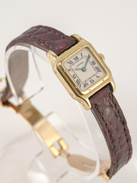 Cartier Cartier Santos Dumont small Petit Modèle yellow gold manual wind