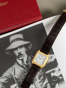 Cartier Cartier Santos Dumont Ultra Flat 1575 boucle deployante