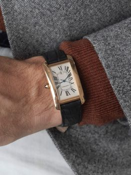 Cartier Cartier Tank Américaine XL rose gold