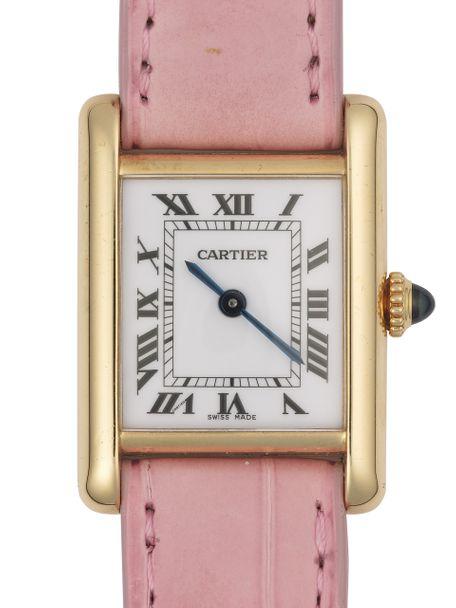Cartier Cartier Tank Louis Petit Modele Or Jaune small yellow Gold