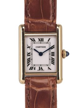 Cartier Cartier Tank Louis Petit Modele Or Jaune small yellow Gold