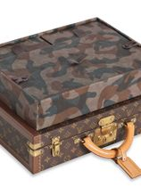 Louis Vuitton Custom Louis Vuitton monogram watch President briefcase