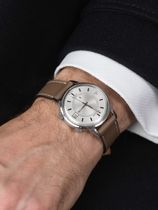 WRIST ICONS Étoupe Elegant watch strap with two tone keepers
