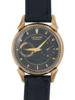 Jaeger Lecoultre Jaeger-LeCoultre Futurematic 10k gold filled black dial