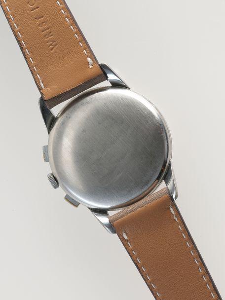 Lemania 105 oversized chronograph caliber 1275 reference 253/14