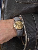 WRIST ICONS Nardo grey suede watch strap