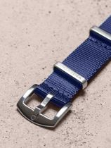 WRIST ICONS Navy blue premium seatbelt nato