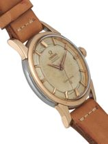 Omega  Constellation 14381-1-SC-1959 Rose gold/steel rail track dial  non date
