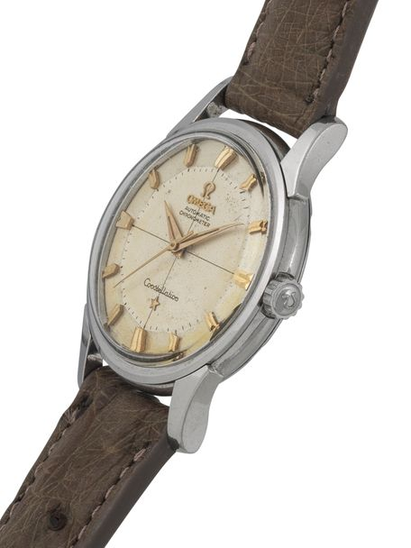 Omega Constellation 14381-7-SC from1959 steel golden hour markers non date