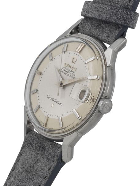 Omega Constellation Calendar168.005 from 1966 in stainless steel