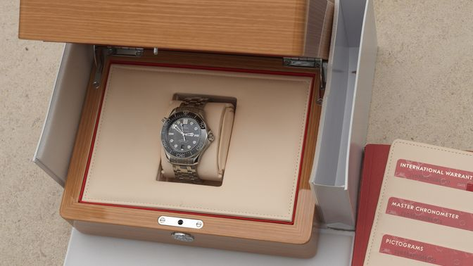 Omega SOLD-Omega Seamaster Diver 300M OMEGA Co-Axial Master Chronometer 42 mmn 2019