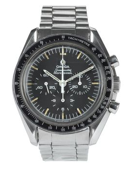 Omega Sold-Omega Speedmaster box and papers 1982
