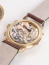 Orator Extra triple calendar chronograph Valjoux72c 18k 1950