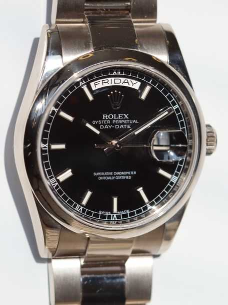 Rolex Rolex Day Date white gold Bucherer box and papers 118209