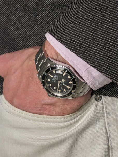 Rolex Rolex 1665 Great White Sea-dweller rail dial 1979