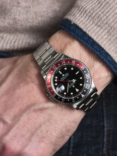 Rolex Rolex  GMT Master II 16760 Fat Lady full set
