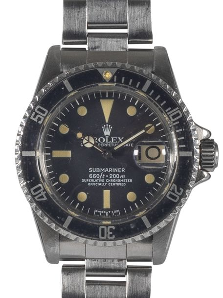 Rolex Rolex Oyster Perpetual Submariner reference 1680 1978 white MK I dial