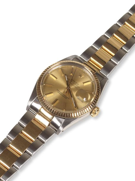Rolex Rolex Oyster Perpetual Datejust 16013 18k/SS two-tone 1987 with an oyster bracelet
