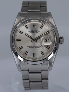 SOLD-Rolex Datejust Wideboy 1600 1971