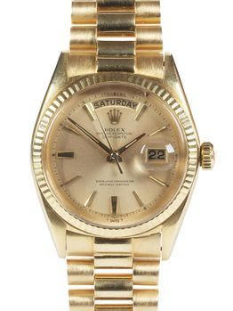 Rolex SOLD-Rolex Day Date 1803 18kt 1964