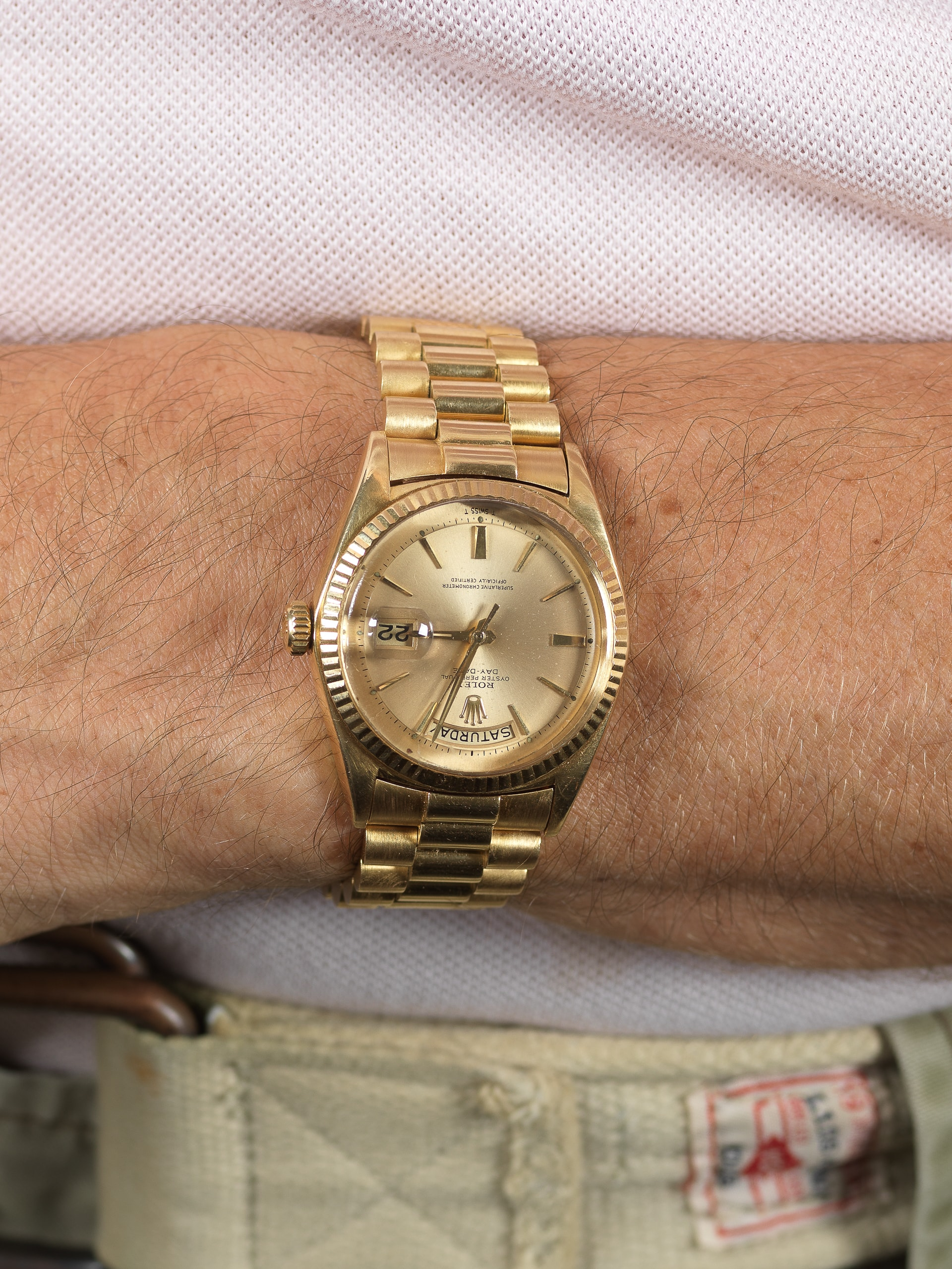 Rolex Day Date 1803 from 1964 with pie,pan dial and jubilee president  bracelet