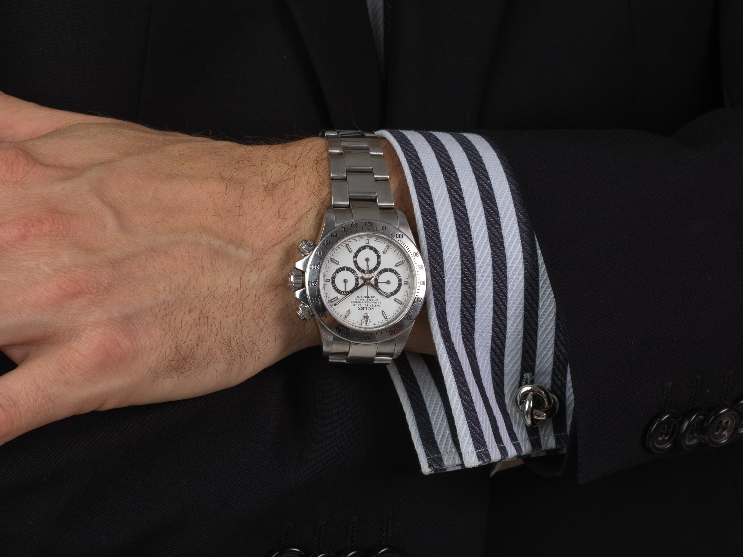 Sold,Rolex Daytona 16520 1999 U,series box and papers 1 owner