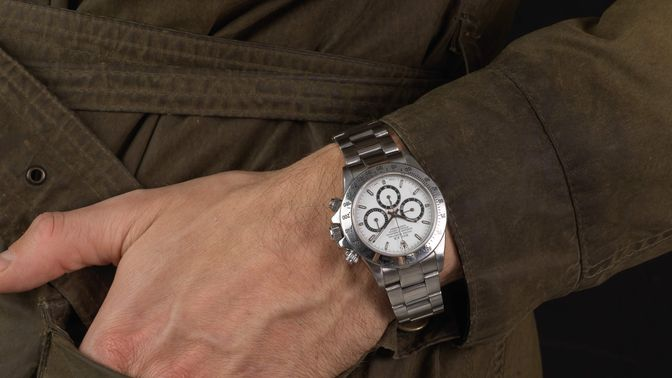 Rolex Sold-Rolex Daytona 16520 1999 U-series box and papers 1 owner