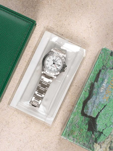 Rolex Sold-Rolex Explorer II 16570 like NOS