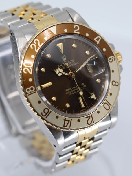 Rolex Rolex  GMT Master 16753 rootbeer nipple dial aka Clint Eastwood