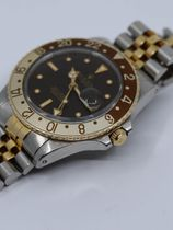 Rolex SOLD-Rolex  GMT Master 16753 rootbeer nipple dial aka Clint Eastwood