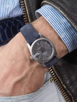 WRIST ICONS Starry Nights suede watch strap