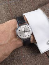 WRIST ICONS The BlackAdder ostrich watch strap
