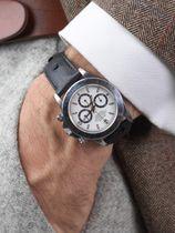 WRIST ICONS The BlackAdder ostrich watch strap