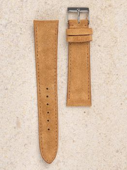 WRIST ICONS The Lion Kings fur suede watch strap