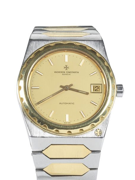Vacheron Constantin SOLD-Vacheron Constantin 222 Jumbo two-tone 18 carat stainless steel