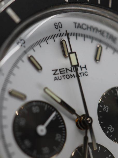 Zenith Zenith El Primero De Luca first series panda dial NOS