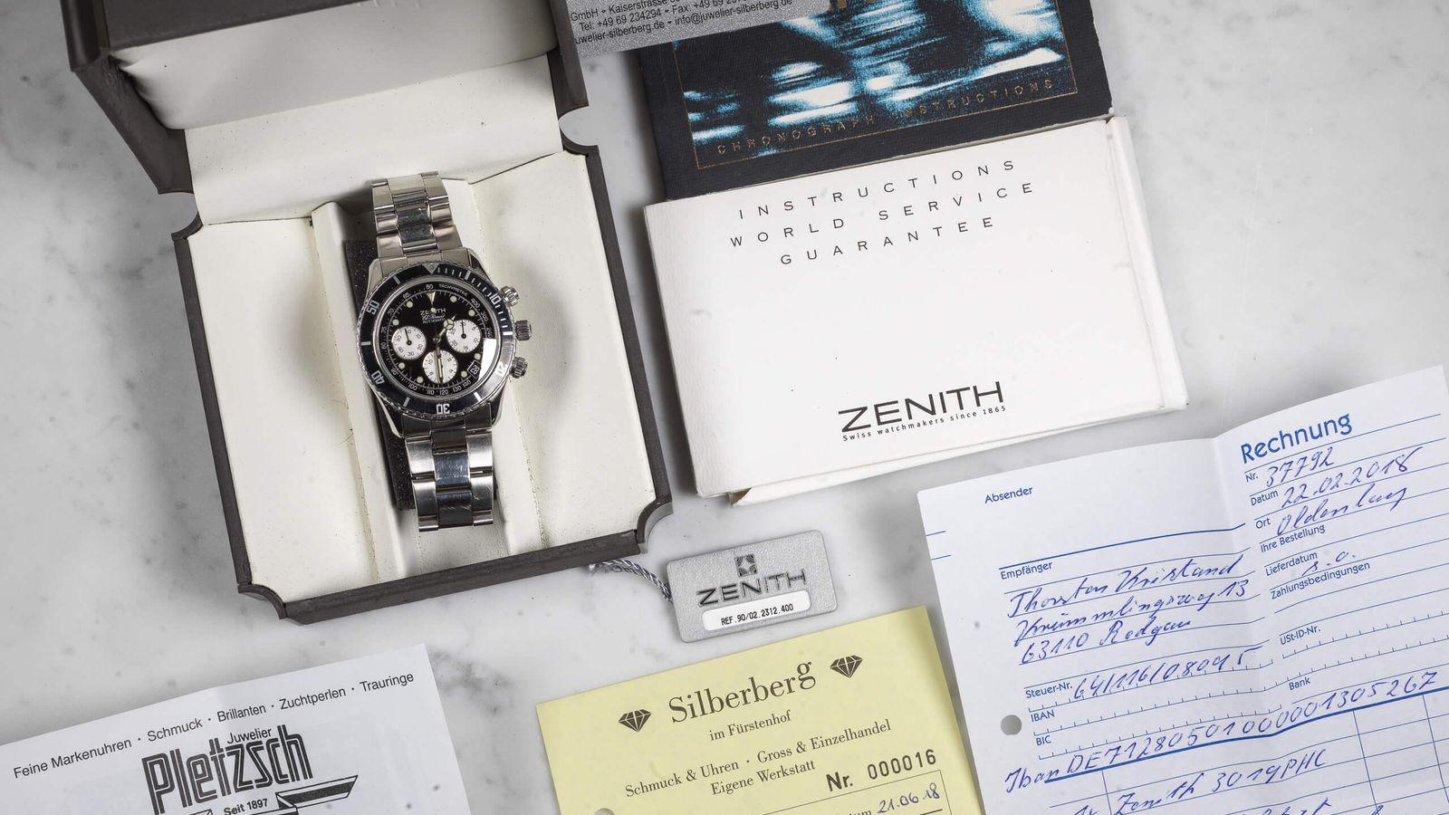 Zenith Zenith El Primero De Luca