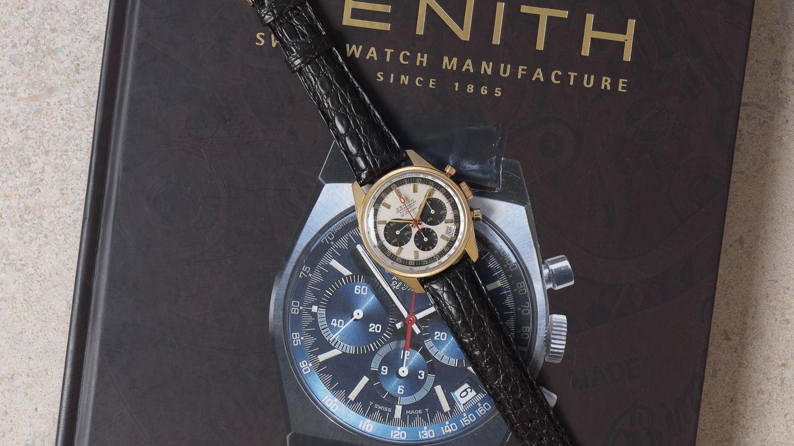 Zenith SOLD-Zenith El Primero G381